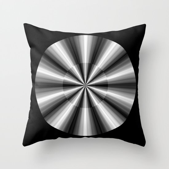 Ten Silver Pointers Throw Pillow