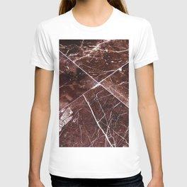 Brown Granite Tiles T-shirt