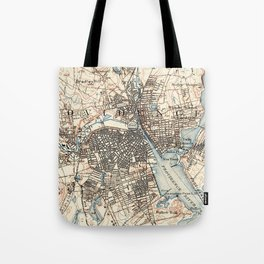 Vintage Map of Providence Rhode Island (1887) Tote Bag
