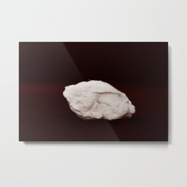 Sculpture by accident. The polar bear Metal Print