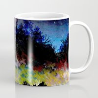 twilight Mugs featuring Twilight by Ivanushka Tzepesh