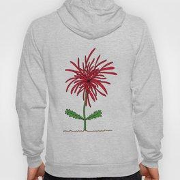 Dishevelled Flower Hoody