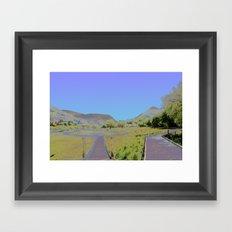 Chromascape 10: Snowdon Framed Art Print