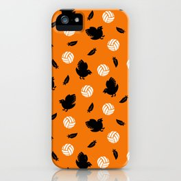 Volley Crows! iPhone Case