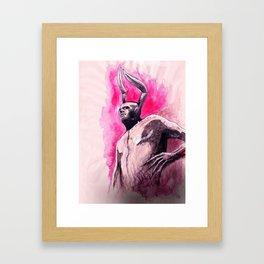 Dirkbot Framed Art Print