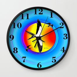 Swallow tailed Kite 2 Wall Clock
