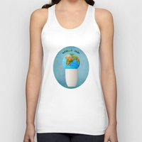 world cup Tank Tops featuring World cup by Anne Seltmann