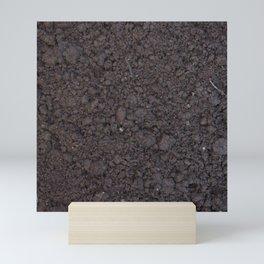 Texture #6 Soil Mini Art Print