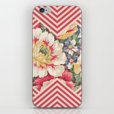 Floral Chevron iPhone & iPod Skin