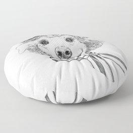 La Laika Floor Pillow