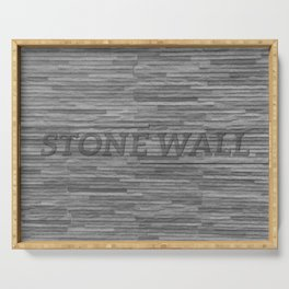 Stone Wall Serving Tray