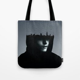 Mr Robot Typography Tote Bag