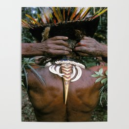 Papua New Guinea Sing Sing Poster