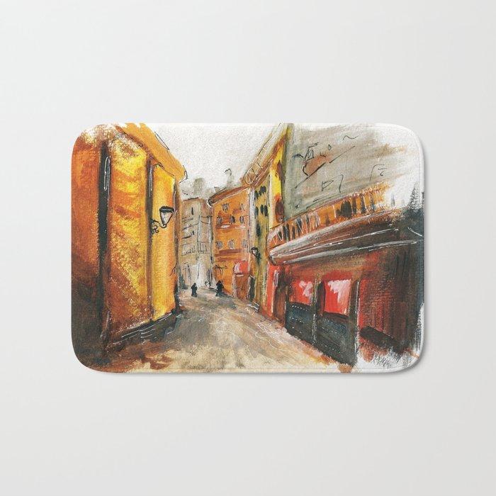 City Street Bath Mat