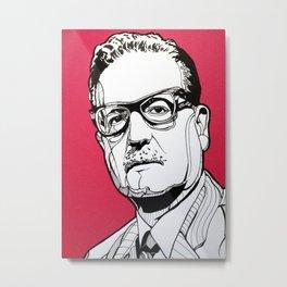 Salvador Allende Metal Print