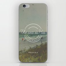 Psalm 95:5 iPhone & iPod Skin