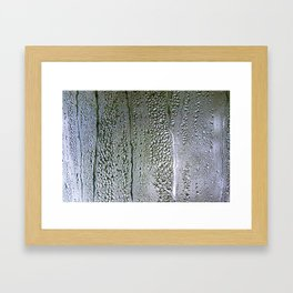 Condensation Framed Art Print