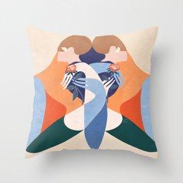 Doppelgänger Throw Pillow