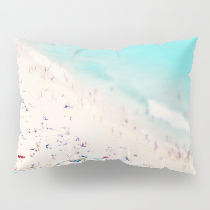 beach love III square Pillow Sham