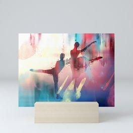 dancing Mini Art Print