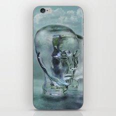 Glasmensch im Internet iPhone Skin