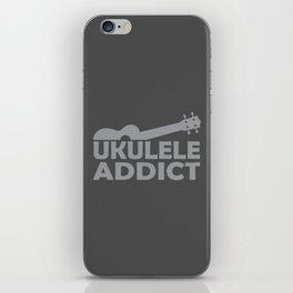 Ukulele Addict iPhone Skin