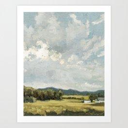 Nice View No. 8 Art Print