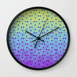 Toxic Revenger Geometric Wall Clock