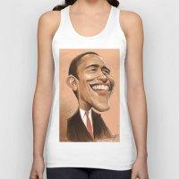 obama Tank Tops featuring Borack Obama by Lars-Erik Robinson