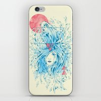 ariel iPhone & iPod Skins featuring Ariel by Steven Toang