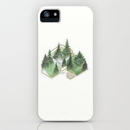 Pines iPhone Case