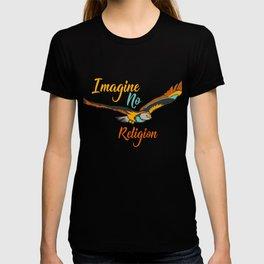Imagine No Religion Gift T-shirt