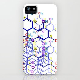 """THC: ENHANCE & TRANSMIT"" iPhone Case"