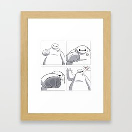 Big Hero 6 - Baymax  Framed Art Print