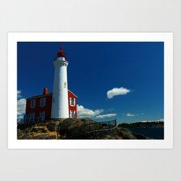 Fisgard Lighthouse Art Print