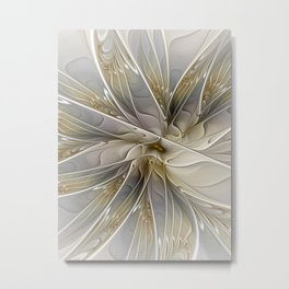 Precious, Fractal Art Metal Print
