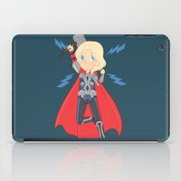 thor iPad Cases featuring Thor by Nozubozu