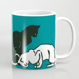 "Théophile Steinlen  ""Frise de chats"" (edited)(5) Coffee Mug"
