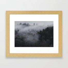 The Sleeping Wood Framed Art Print