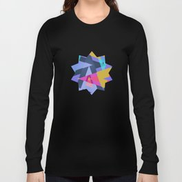 Triangle Round Up Long Sleeve T-shirt
