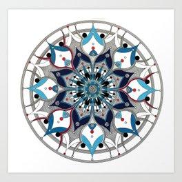 Mandala 006 Art Print