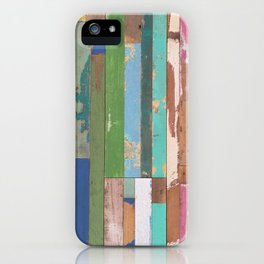 Maui Fence Hawaii Colorful Art iPhone Case