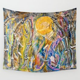 Bending Strength Wall Tapestry
