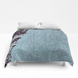 Ice Waterfall Comforters