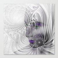 behind the fractal -a- Canvas Print