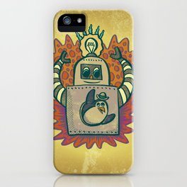 Penguin Popper iPhone Case