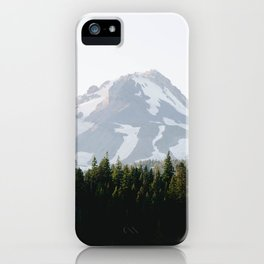 mountain magic hour iPhone Case