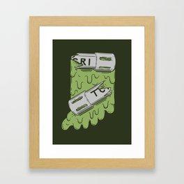 Teenage Mutant Hoosier Turtles Framed Art Print