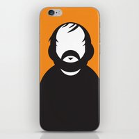 stanley kubrick iPhone & iPod Skins featuring Stanley by Ale Giorgini
