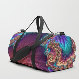 Peacock Feather Duffle Bag